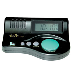 Curve Talking Clock - click to view larger image