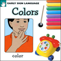 Early Sign Language Book - Colors - click to view larger image