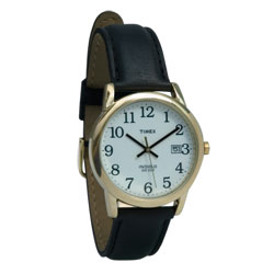 Easy Reader by Timex -Leather Band - click to view larger image