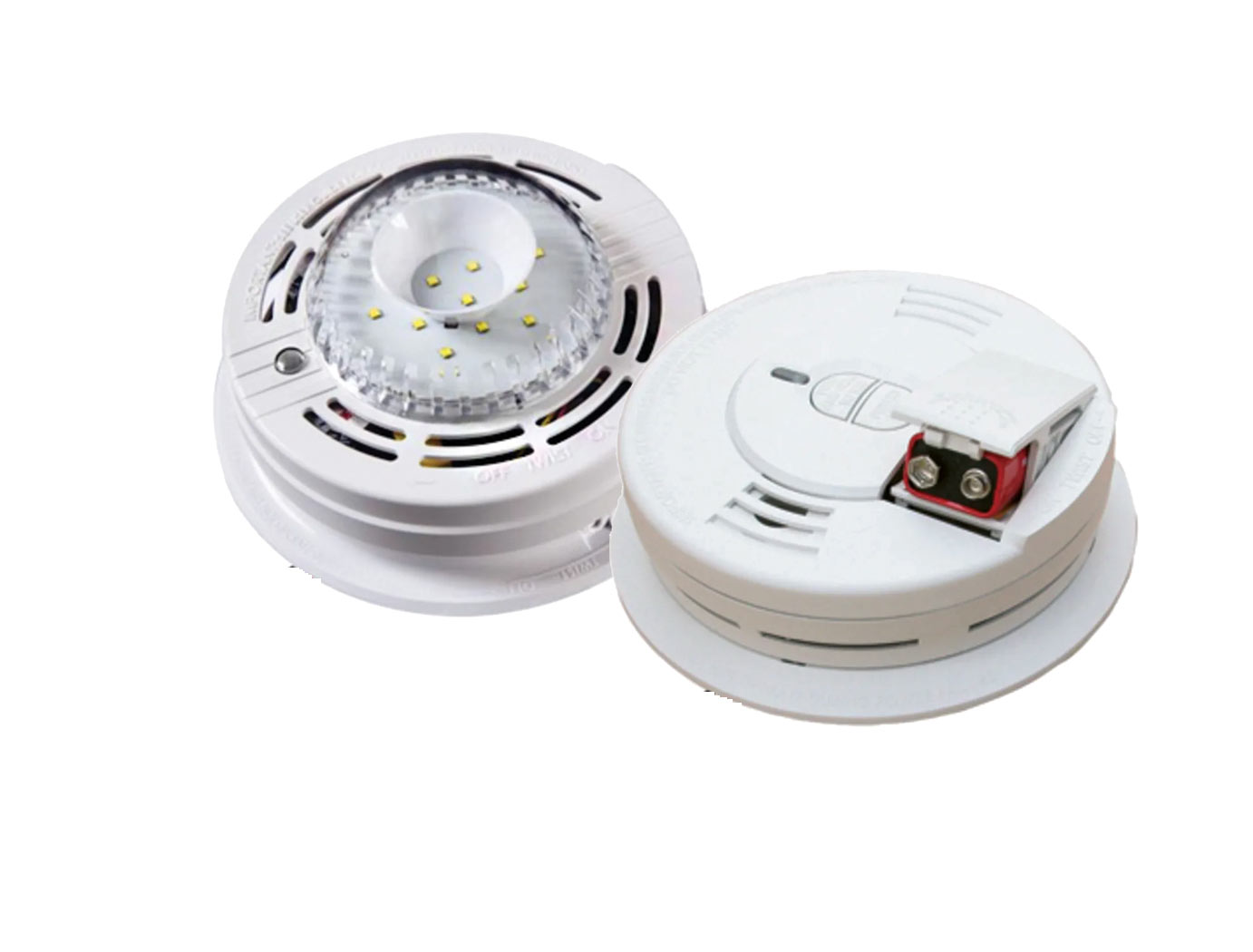 Kidde Smoke Alarm With Strobe Light Carbon Monoxide And
