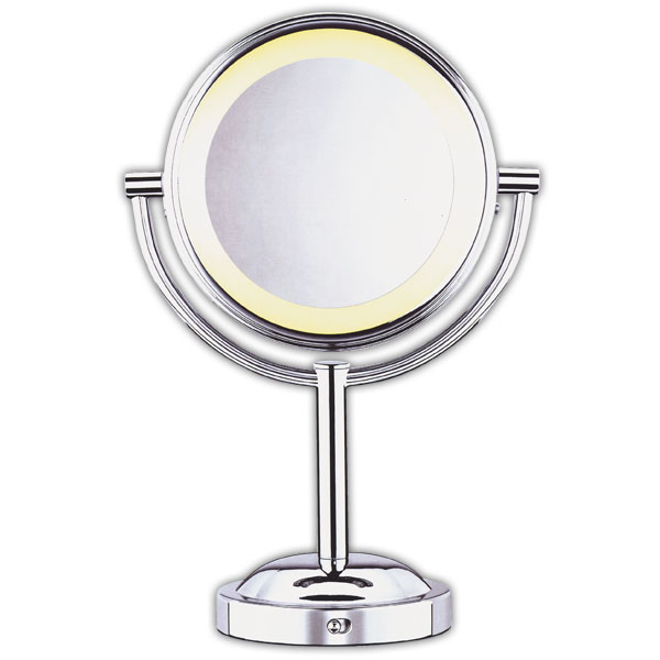 Conair Double Sided 5x 1x Lighted Makeup Mirror Mirrors