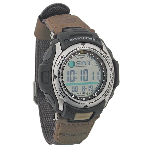 Casio pathfinder vibrating alarm watch fishing click to for Casio pathfinder fishing watch