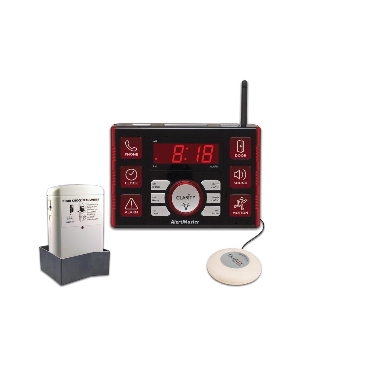 AlertMaster AL10 Clock-Vibrator-Door Knock System
