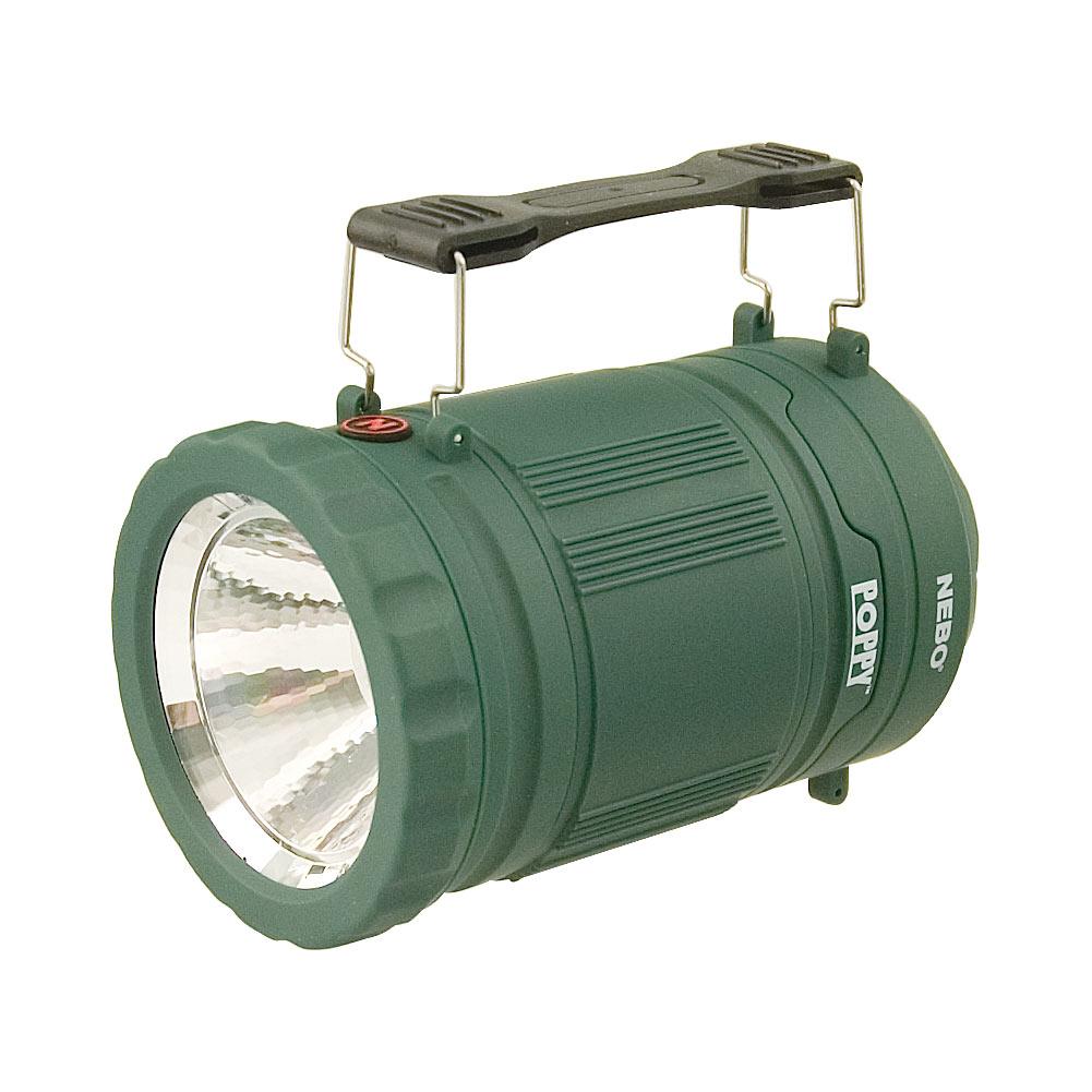 Poppy 300 Lumen Lantern and 120 Lumen Spot Light - Green