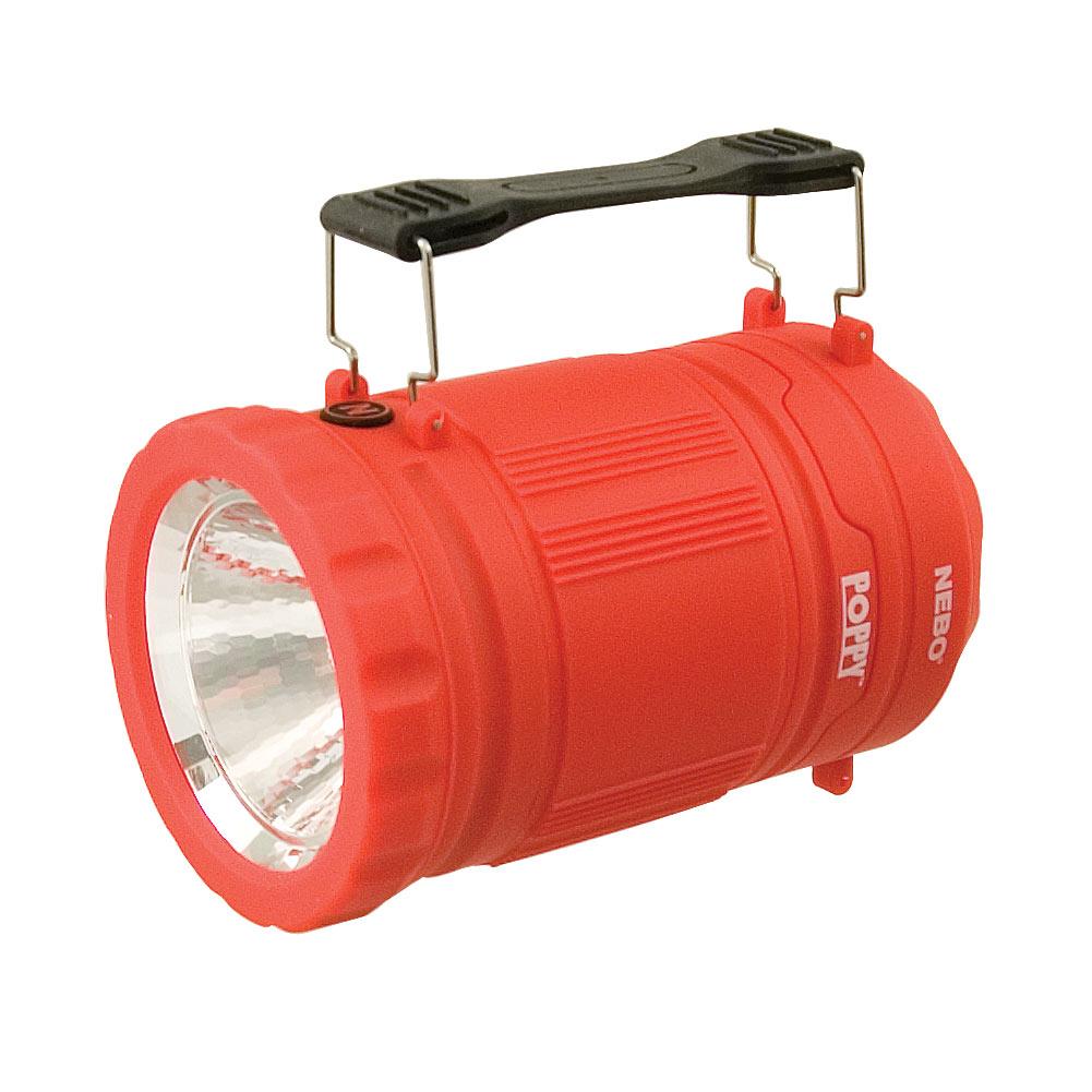 Poppy 300 Lumen Lantern and 120 Lumen Spot Light - Red