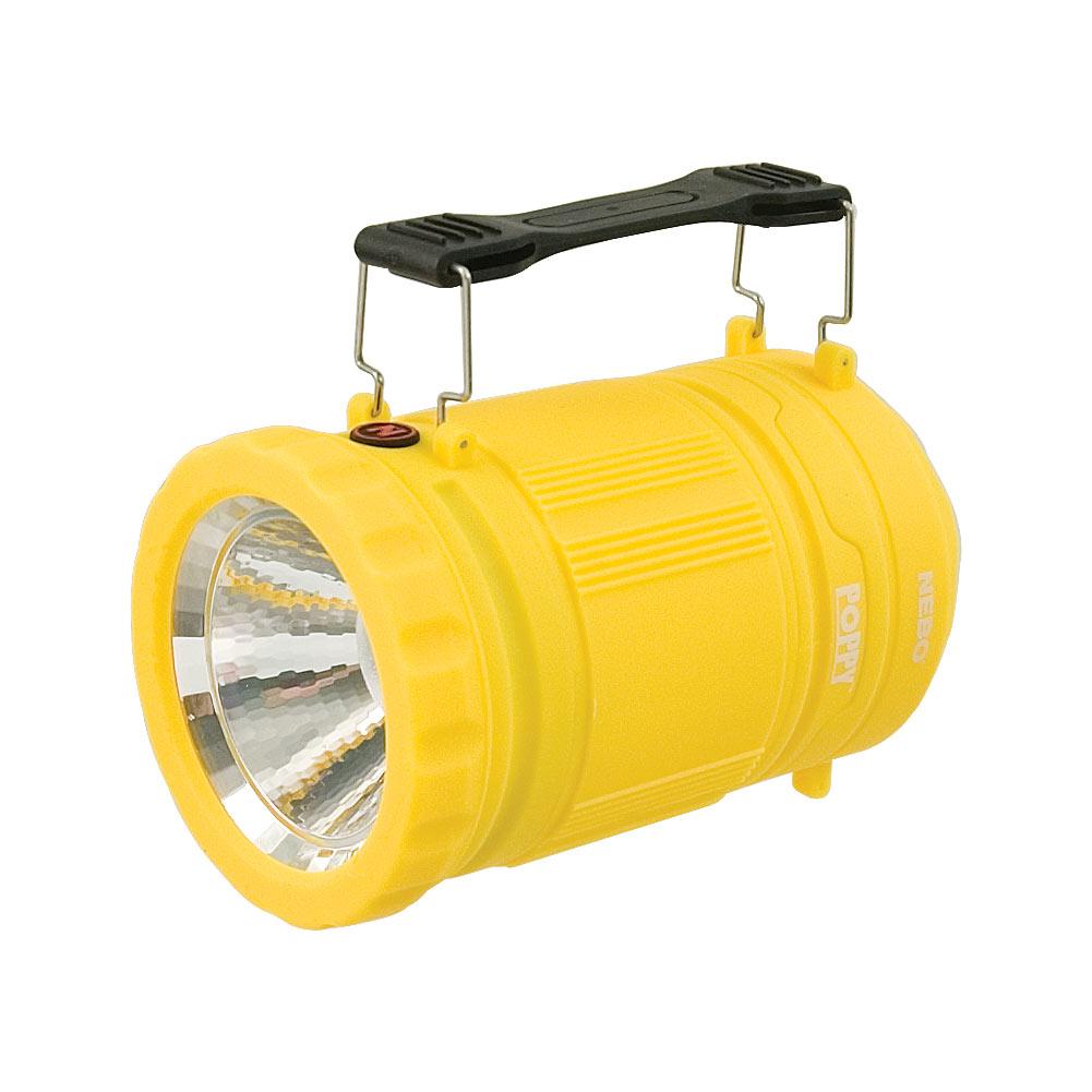 Poppy 300 Lumen Lantern and 120 Lumen Spot Light - Yellow