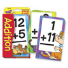 Low Vision Addition Pocket Flash Cards
