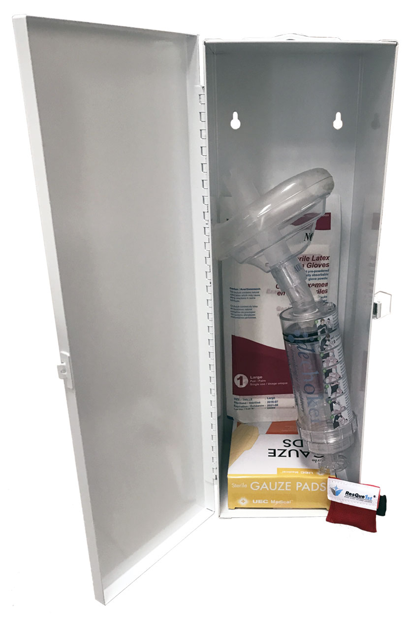 Dechoker Choking Safety First Aid Cabinet - Adult