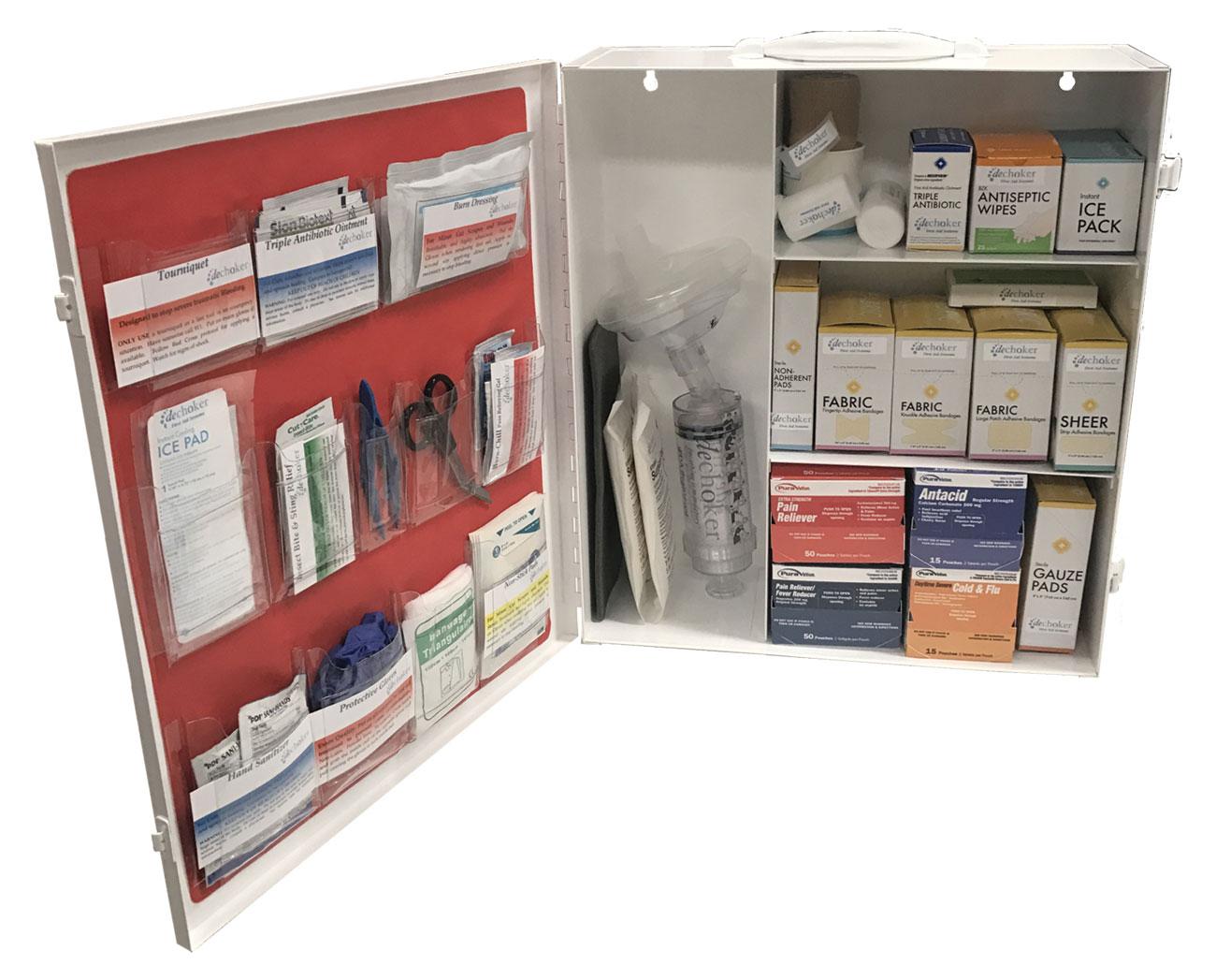 Dechoker Restaurant and Food Service First Aid + Choking Aid Kit