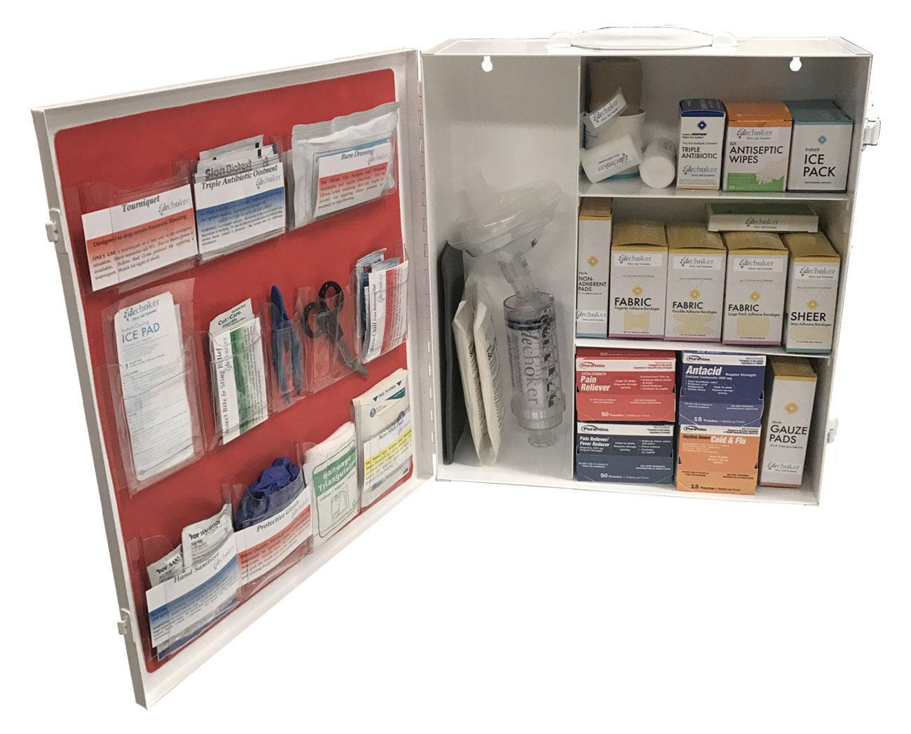 Dechoker Office First Aid + Choking Aid Kit