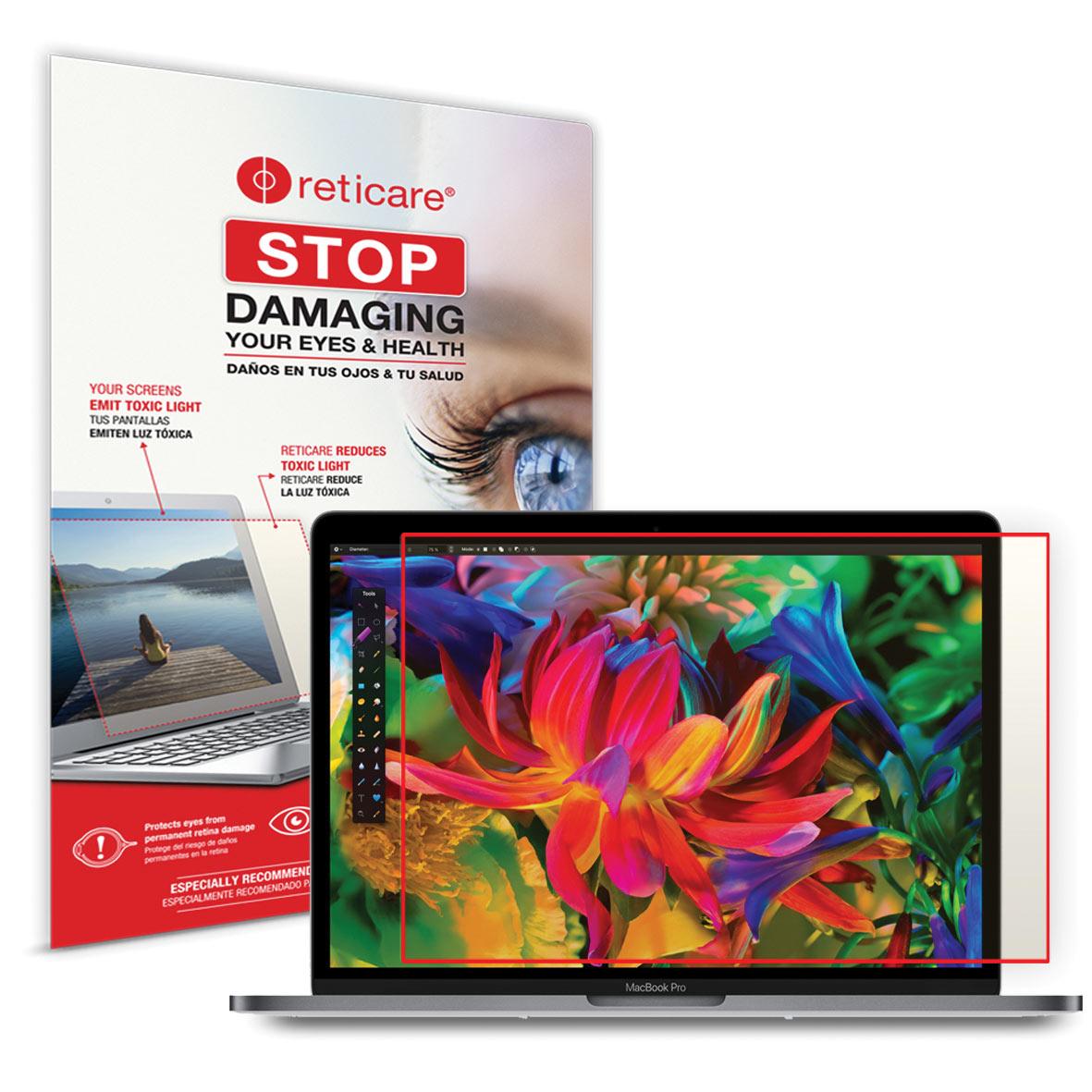 Reticare MacBook Pro 15-inch Eye+Screen Blue Light Protector