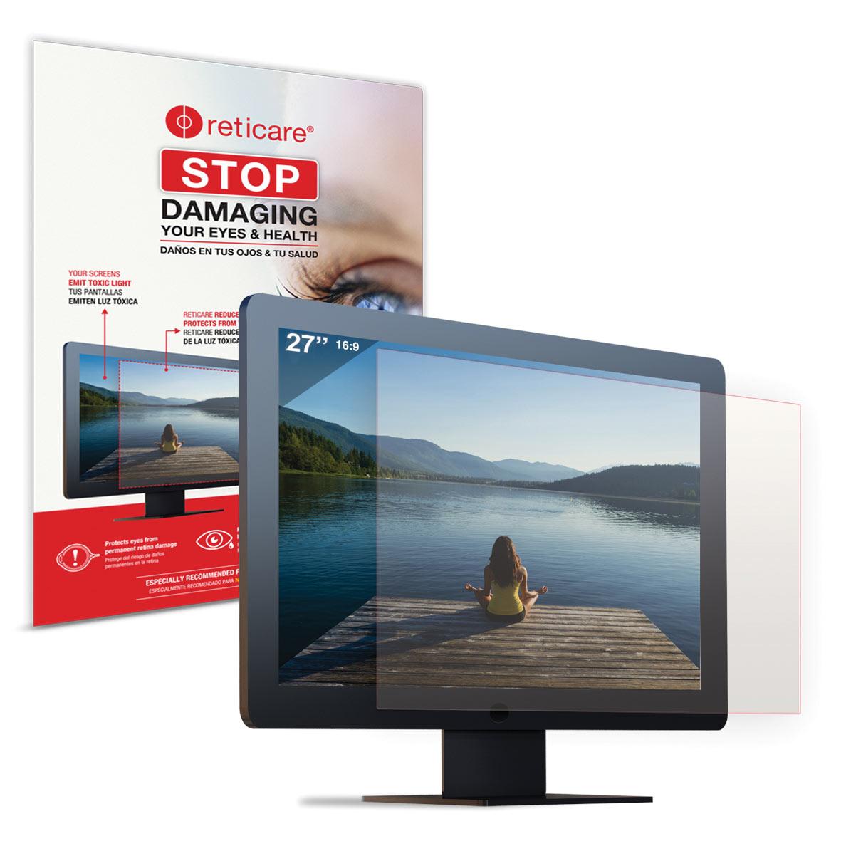 Reticare iMac 27-in. Universal Monitor Eye+Screen Blue Light Protector