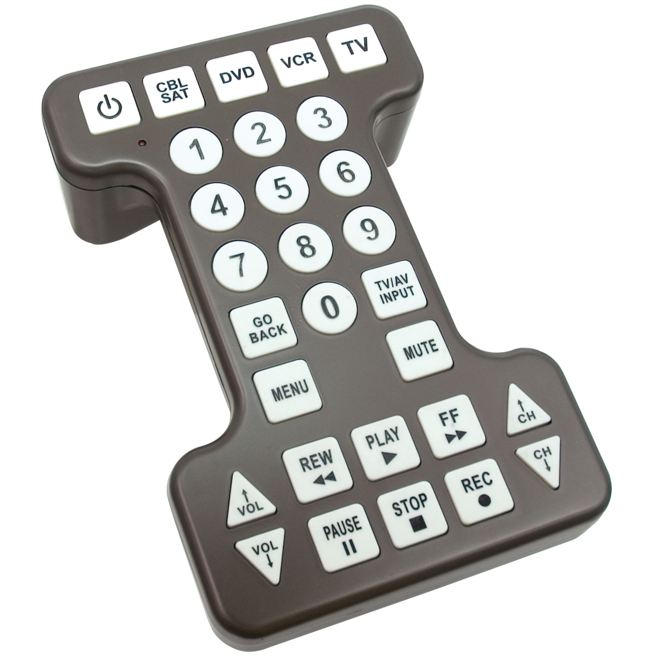 Reizen Jumbo Remote Control for the Visually Impaired