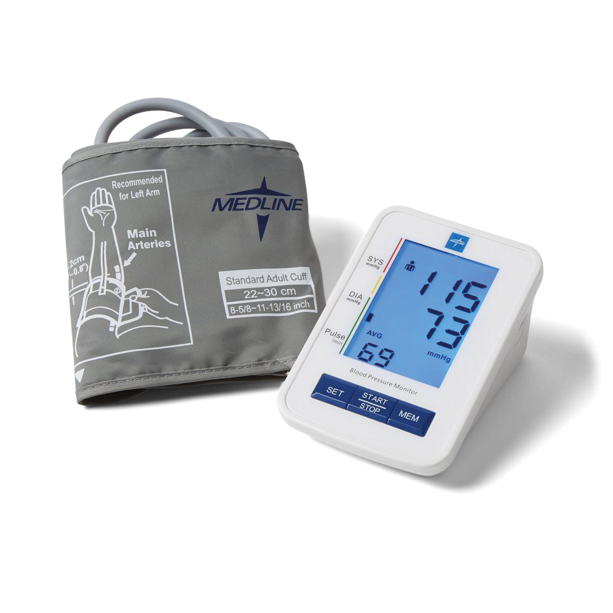 Talking Blood Pressure Monitor - Large Adult Cuff - English + Spanish
