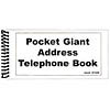 Pocket Large Print Address Book