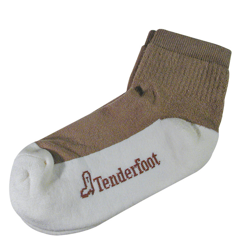 Tenderfoot Healthy Quarter Socks - Size- 10-13