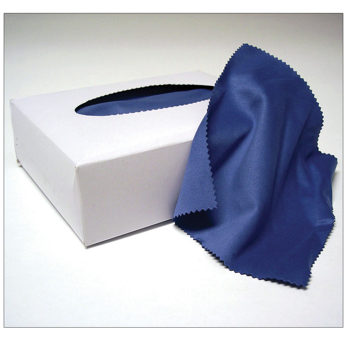 Earmold Cleaning Cloth Blue Microfiber - Box of 100