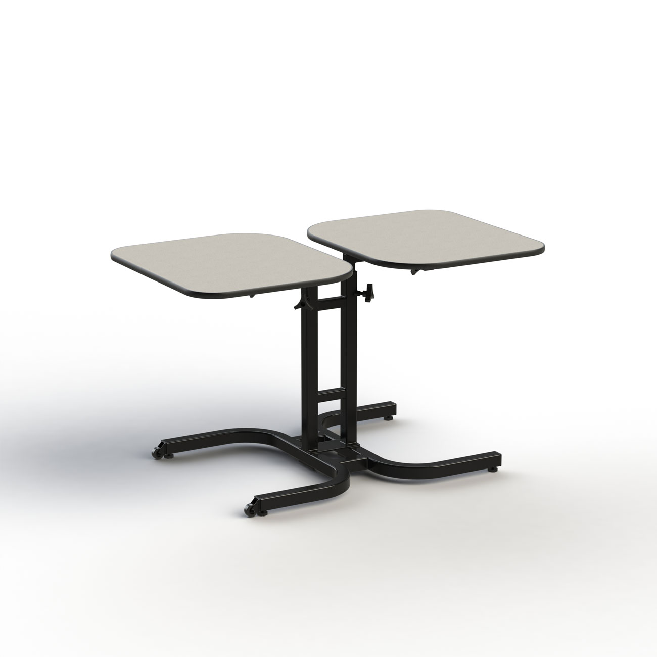 TITAN 2-Person Adj. Assistive Lift and Move Table with Lazy Susan
