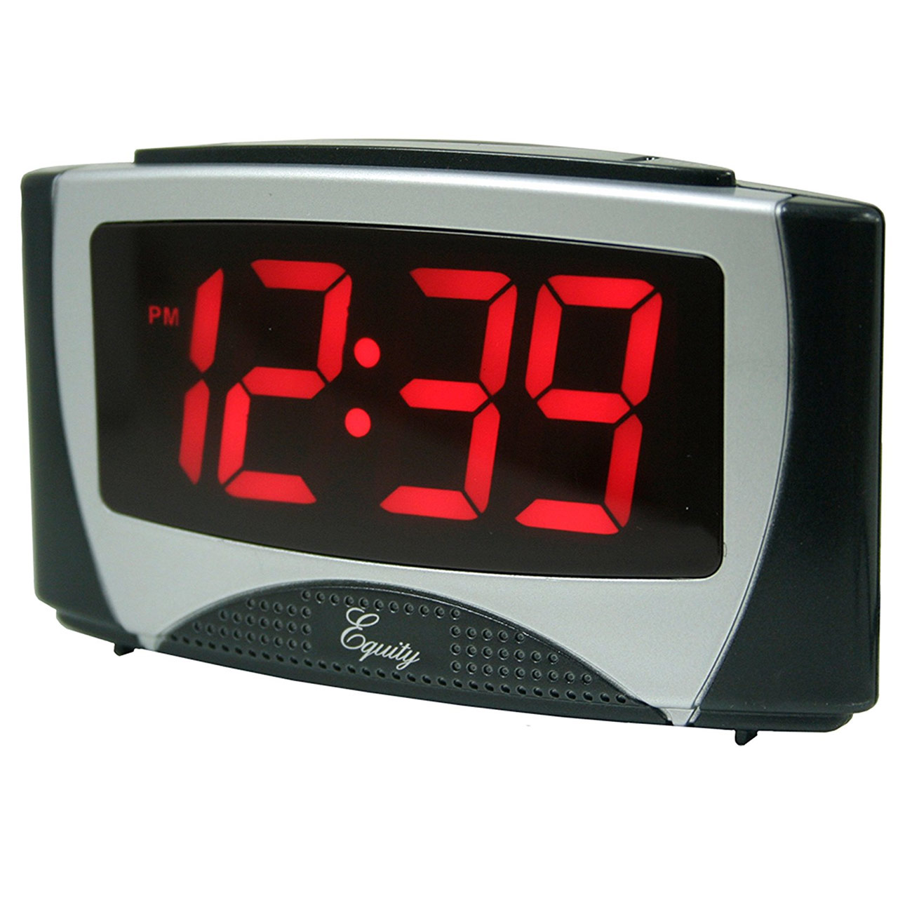 Low Vision Clock with Dual Alarms and 1.2-inch LED