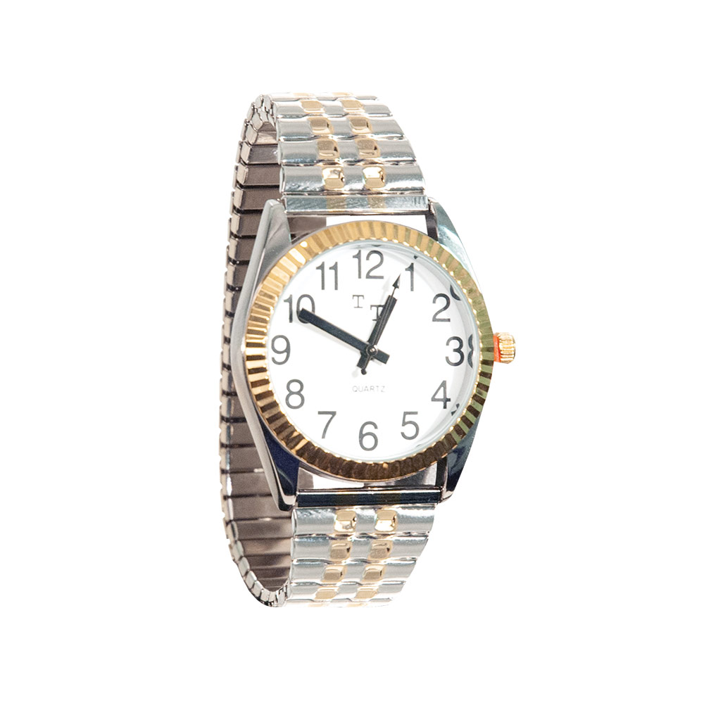 Low Vision Watch- Womens with Expansion Band