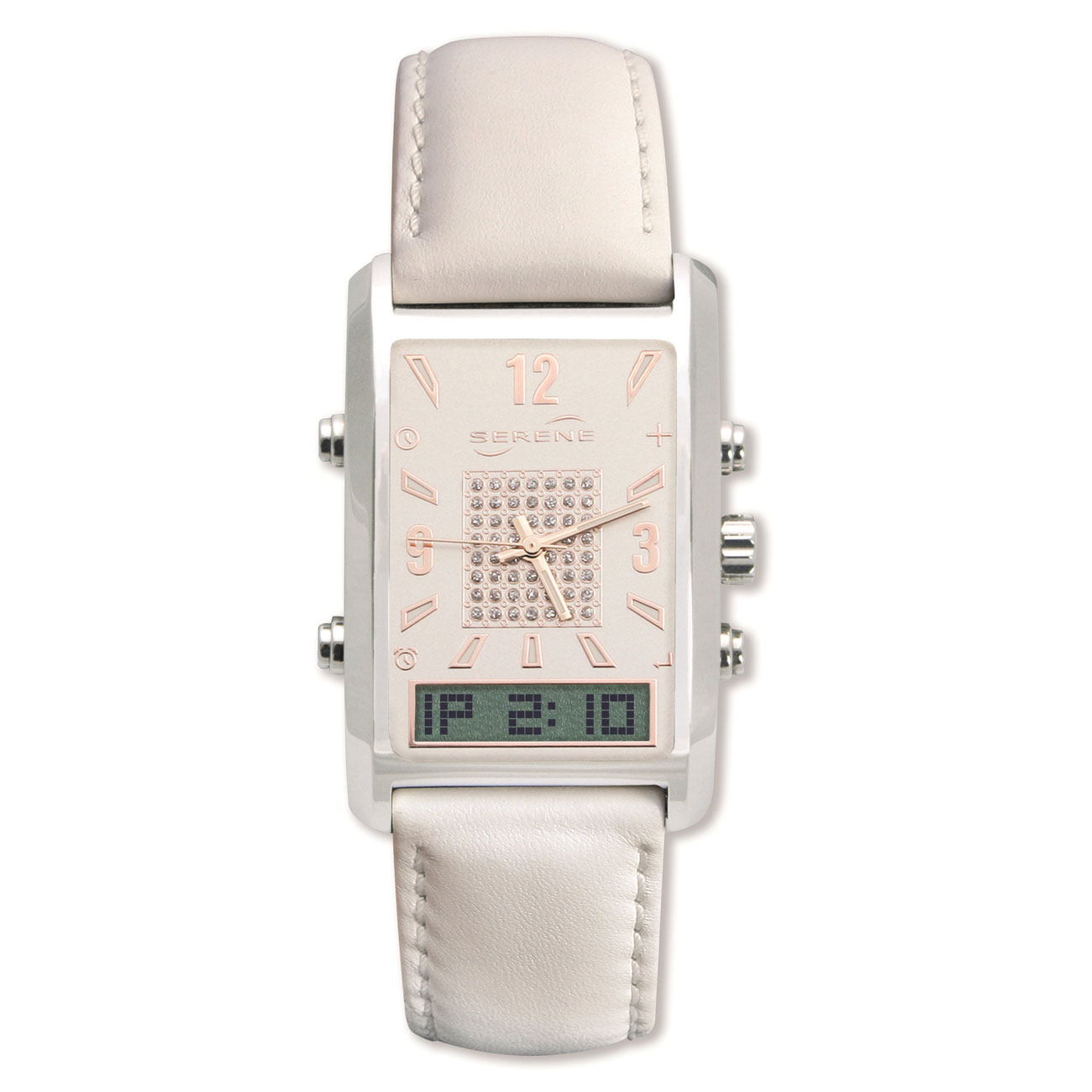 VibraQuartz Vibrating Watch for Women
