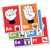 Alphabet- Signs, Letters, Sounds Learning Cards