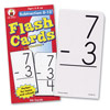 Low Vision Subtraction Flash Cards