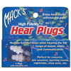 Macks Hear Plugs High Fidelity Earplugs- 1 Pair