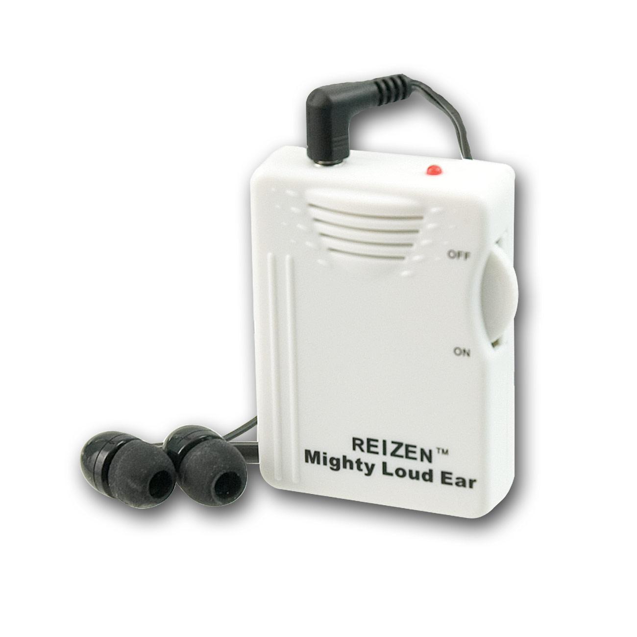 Reizen Mighty Loud Ear 120dB Personal Sound Hearing Amplifier