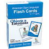 Sign2Me Flash Cards- Beginners Series- Objects and Emotions Pack