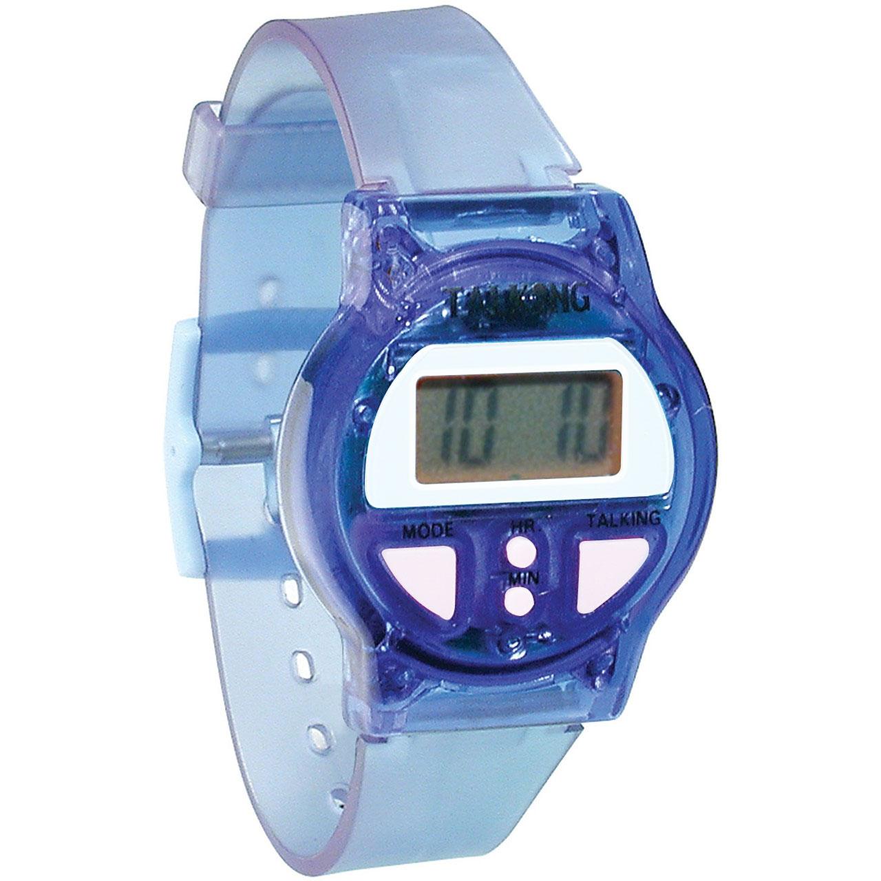 Color Talking Watch -Blue
