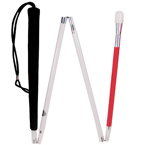 Europa Superior Folding Canes with Screw on Tip - 38 inches