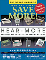 HEAR-MORE 2003-2003 Catalog