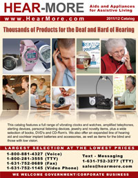 HEAR-MORE 2011-2012 Catalog
