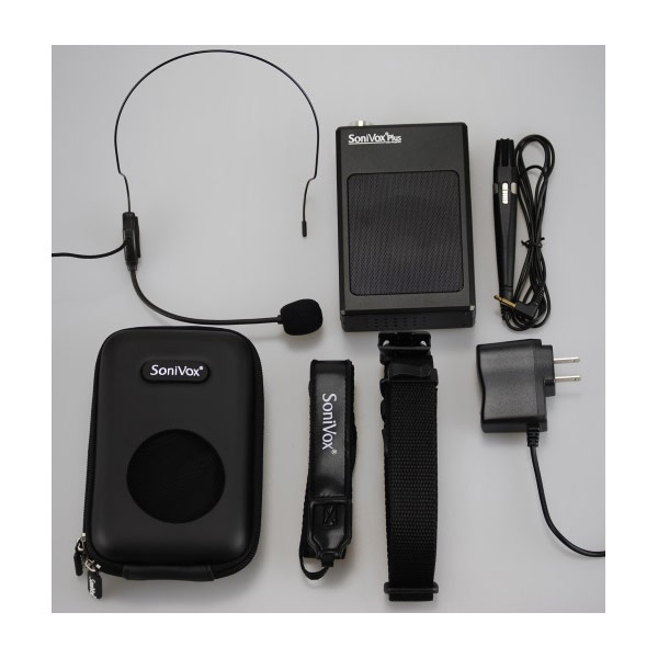 SoniVox Plus Portable Personal Voice Amplifier