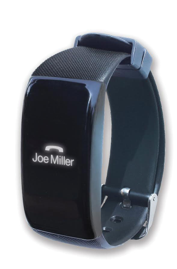 instaLINK Wearable Smart Phone Alert Watch