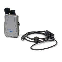 Pocketalker Mini (Silver Color) with Neckloop Price: $159.95