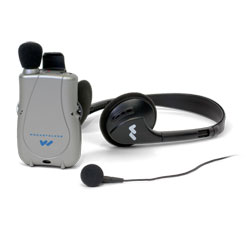 Pocketalker Ultra with Earbud and Headphones Price: $119.00