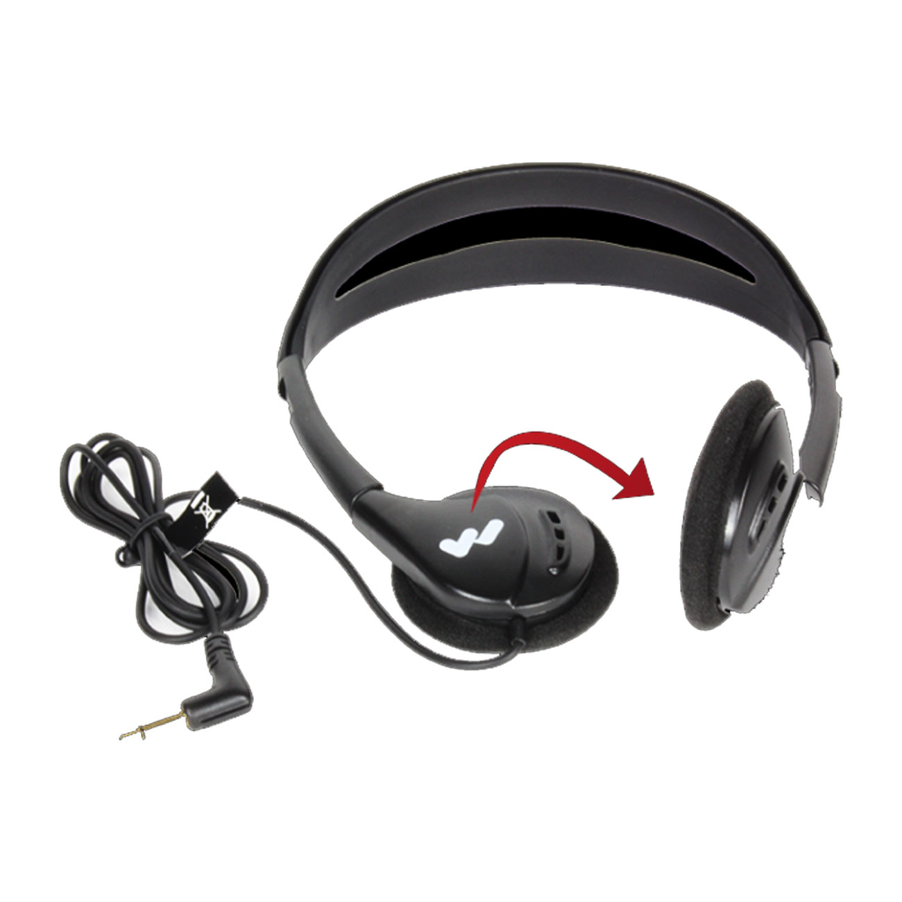 Deluxe Folding Headphone - -Adult Price: $15.50