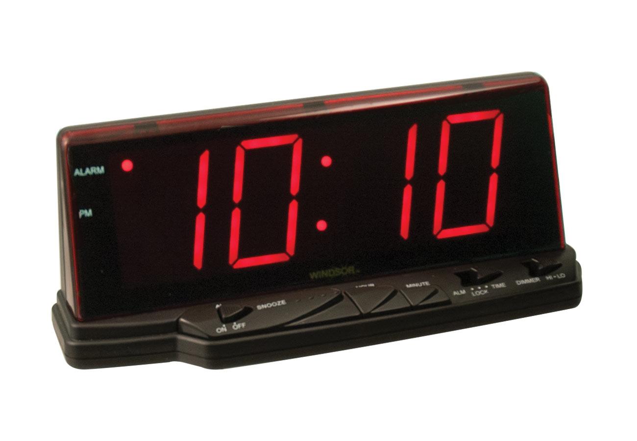 Digital Alarm Clock with Jumbo Display
