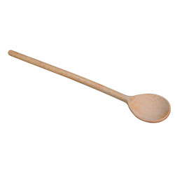 12 inch Wooden Spoon- slotted
