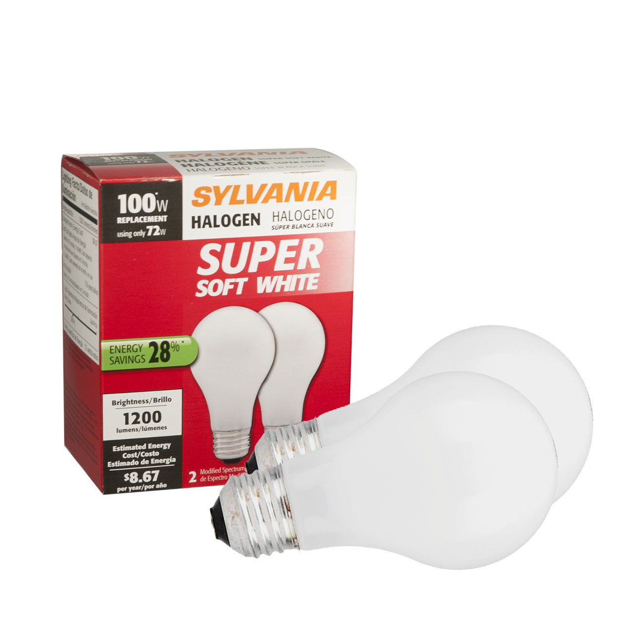 Sylvania Halogen Light Bulb - click to view larger image
