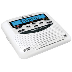 Weather Alert Radio with S.A.M.E. Local Alerts Price: $49.95