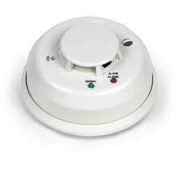 Medallion Series Smoke Detector with Transmitter - click to view larger image