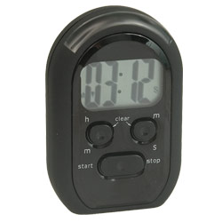 Quake-N-Wake 3-Alert Multi Timer - Black Price: $19.95