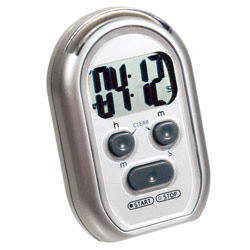 3-Alert Digital Multi Timer - Silver