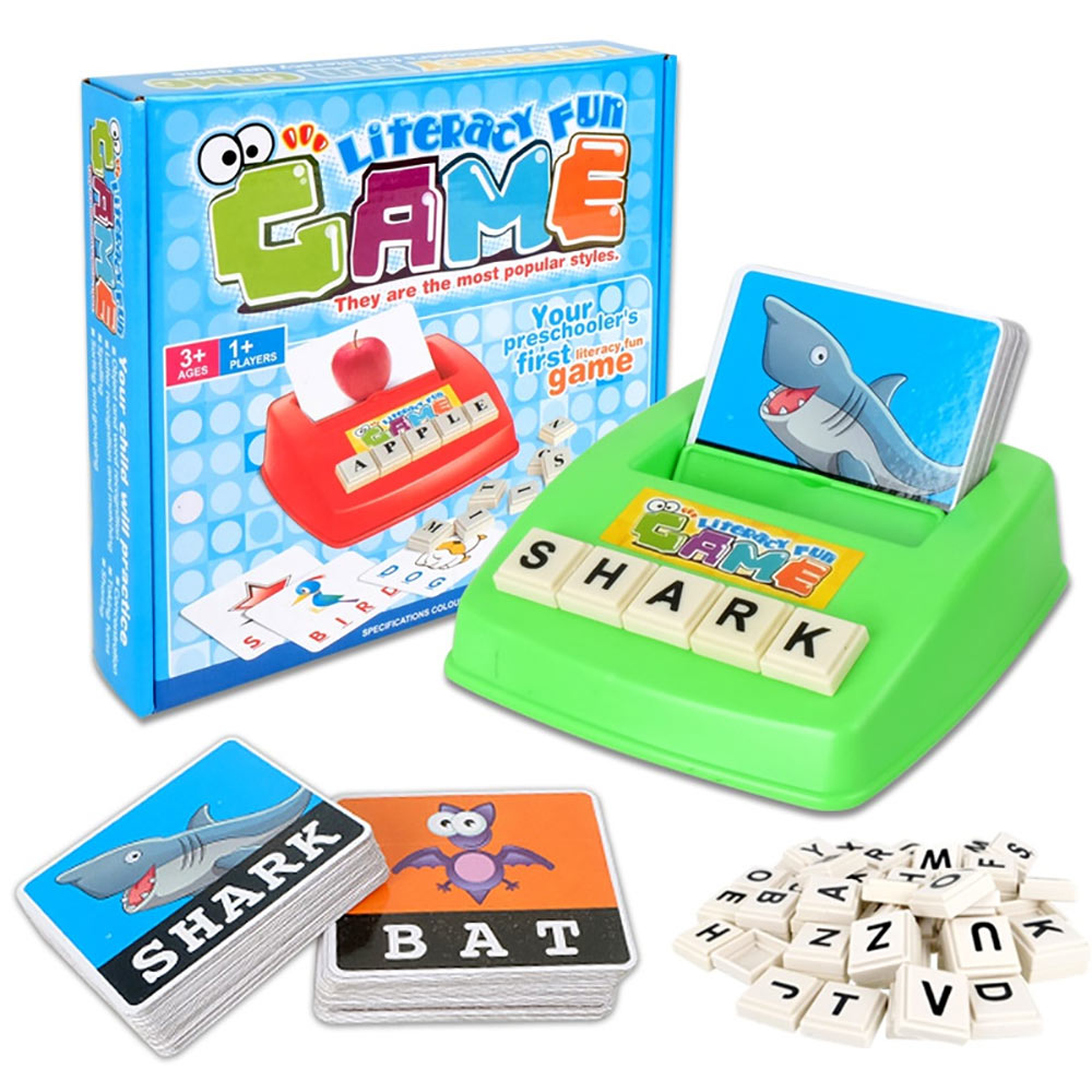Vocabulary Fun Spelling Game- Braille Version Modified by MaxiAids