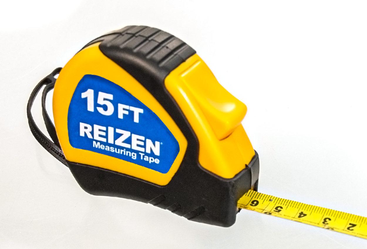 Braille 15ft Steel Tape Measure