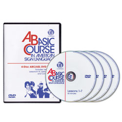 A Basic Course in American Sign Language: 4 DVDs Price: $74.95