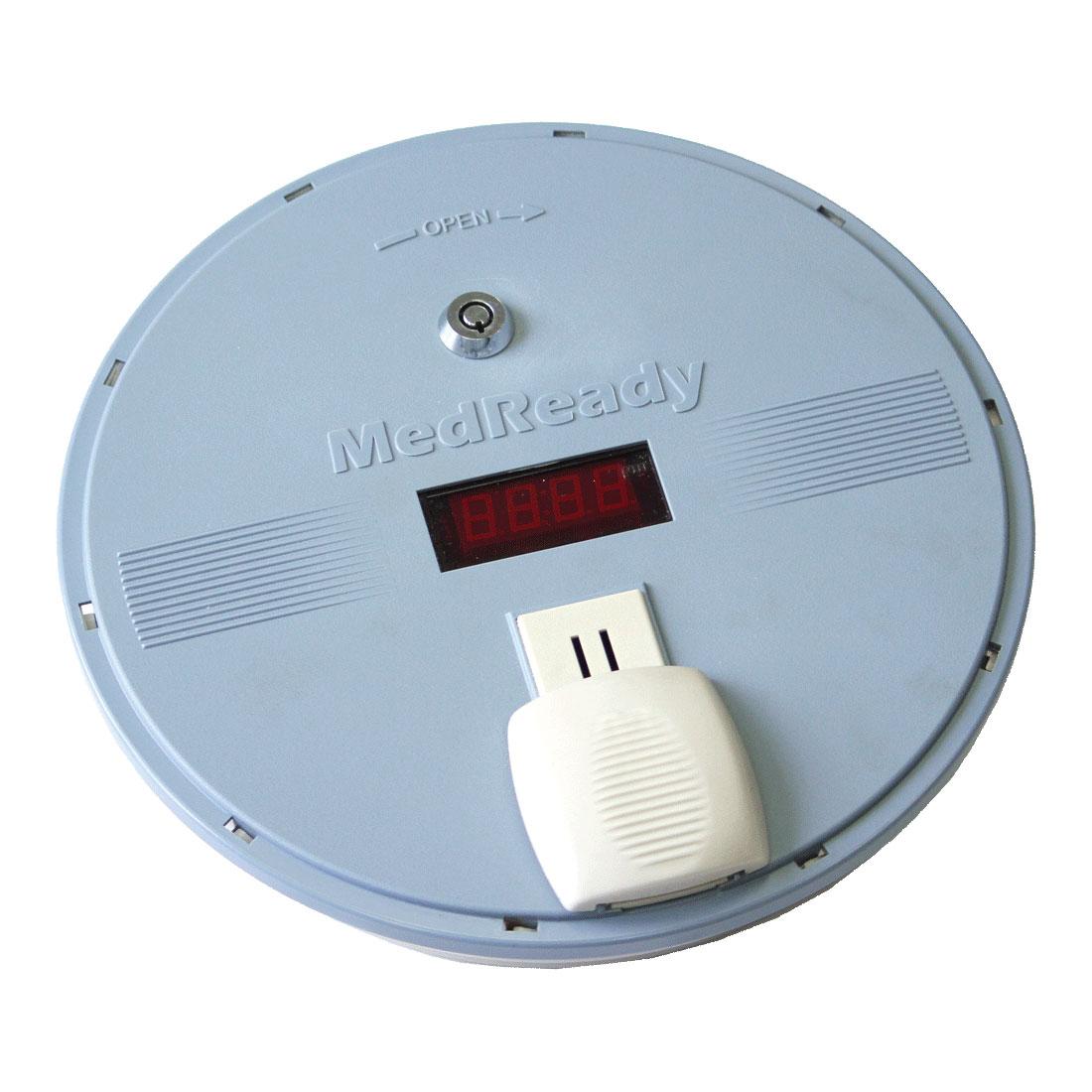 MedReady 1700-FL Medication Pill Dispenser with Flashing Light